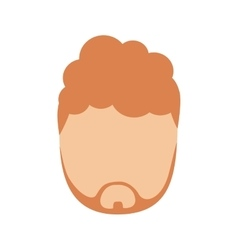 Man human avatar isolated icon vector