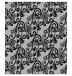 Lace ornament texture pattern vector