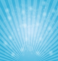 Abstract bokeh on light blue background vector