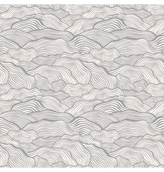Seamless pattern with wavy scale texture vector