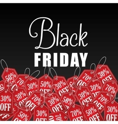 Black friday discountsoffers and promotions vector