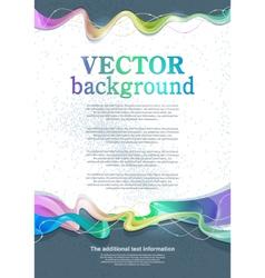 background for design vector image