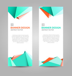 Abstract background banner vector