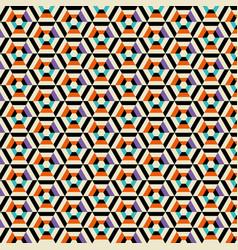 Monochrome geometric pattern background vector
