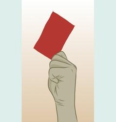 Redcard vector
