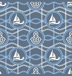 seamless pattern for traveling vector image vector image