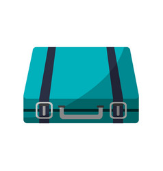 travel suitcase icon vector image