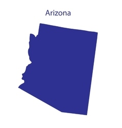 United states arizona vector