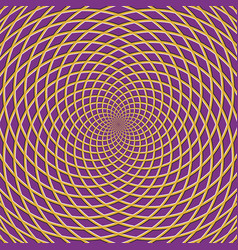 Concentric optical background vector