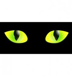 Cat eye vector
