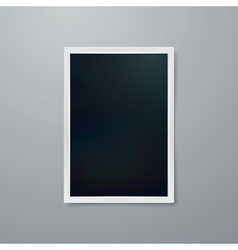Instant photo frame vector image
