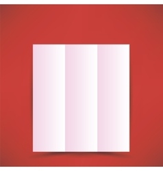 Pink Paper Brochure vector image