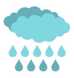 Rain icon isolated vector