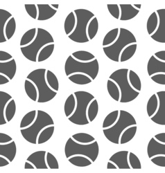 Tennis seamless pattern for boy sports balls on vector