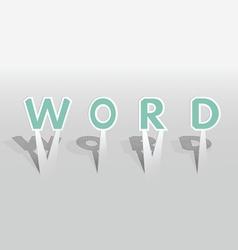 Word word vector