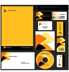 Corporate identity vector