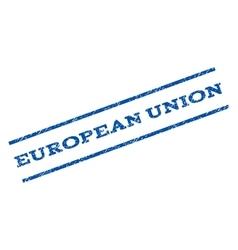European union watermark stamp vector
