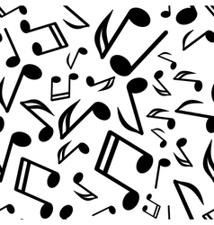 notes seamless background vector image