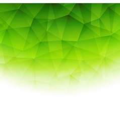 Abstract color template low poly background vector image