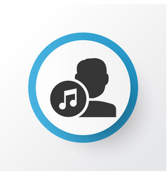 Artists icon symbol premium quality isolated vector