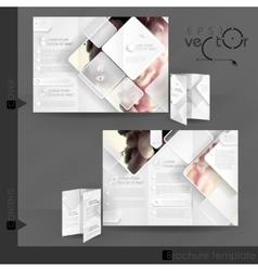 Business Brochure Template Design vector image vector image