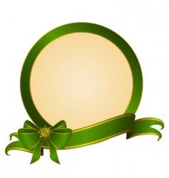 circular frame vector image vector image