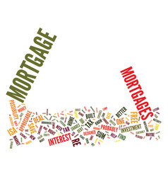 Find a great remortgage deal text background word vector