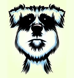 Terrier Dog Portrait vector image