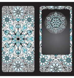 Silvery cover for a mobile phone vector