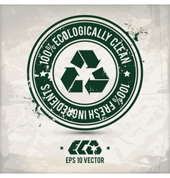 Alternative eco label vector