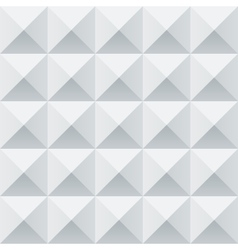Abstract white and grey geometric squares seamless vector