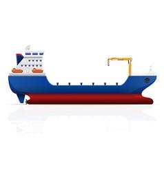 Cargo ship 01 vector