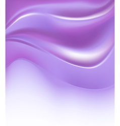 Violet silky abstract background vector