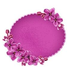 floral background for design vector image