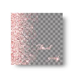 glow pink background vector image vector image