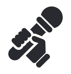 Karaoke icon vector