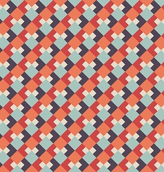 Abstract seamless geometric retro background vector
