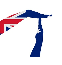 Australian timeout vector image vector image