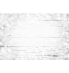Bokeh on wood vector image vector image