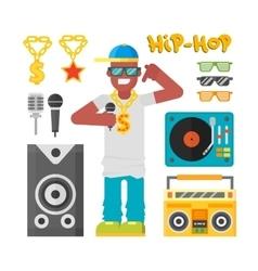 Hip hop man vector