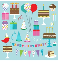Birthday clipart vector