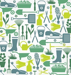 Seamless garden vector