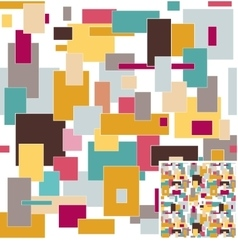 Colorful seamless background vector image vector image