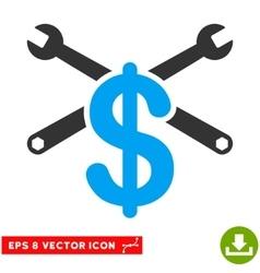 Repair service price eps icon vector