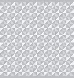 white 3d texture pattern of triangles and squares vector image vector image