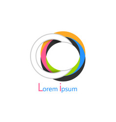 Colorful logo vector