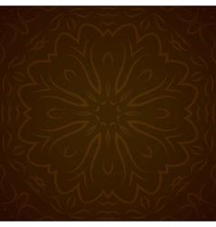 Abstract circle ornamental border vector image