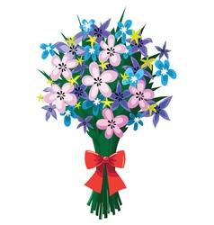 Bouquet huge vector
