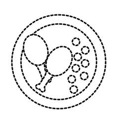 food icon image vector image