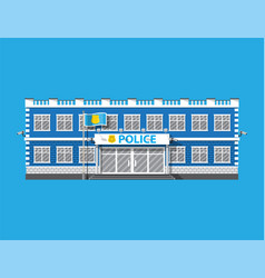 Police station icon eps 10 format vector